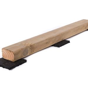 Dakrand houten profiel