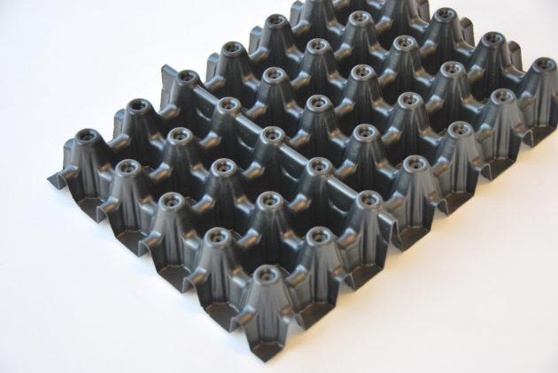 Wissel drainage ondermat ( extra kosten ) Drainagemat 20 mm wordt Drainageplaat 40 mm per m2