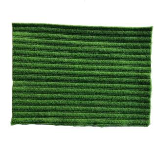 Drainagevlies met groene ribbel 10 mm, per m2